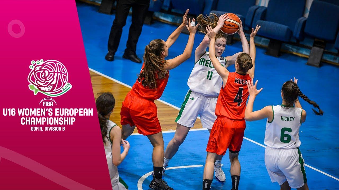 Ireland v Albania - Full Game - FIBA U16 Women's European Championship Division B 2019