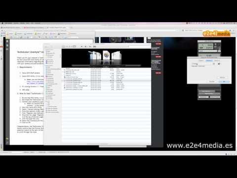 Video tutorial instalación y uso de Cine Style de Technicolor en una Canon 5D Mark II