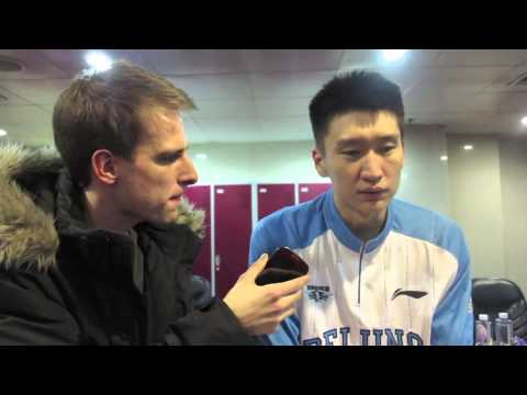 Sun Yue talks Beijing fans and pick and roll with Morris