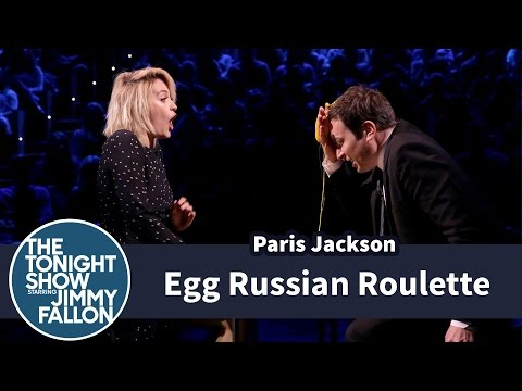 Egg Russian Roulette with Paris Jackson