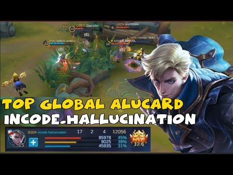 TOP GLOBAL ALUCARD PLAYER  |SOLO CARRY | GLORIOUS RANKED GAME | INSANE KDA (17/2/4)