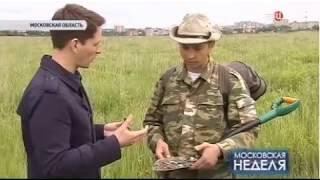 Белый Копатель на ТВЦ в передаче Московская Неделя 25.06.2017
