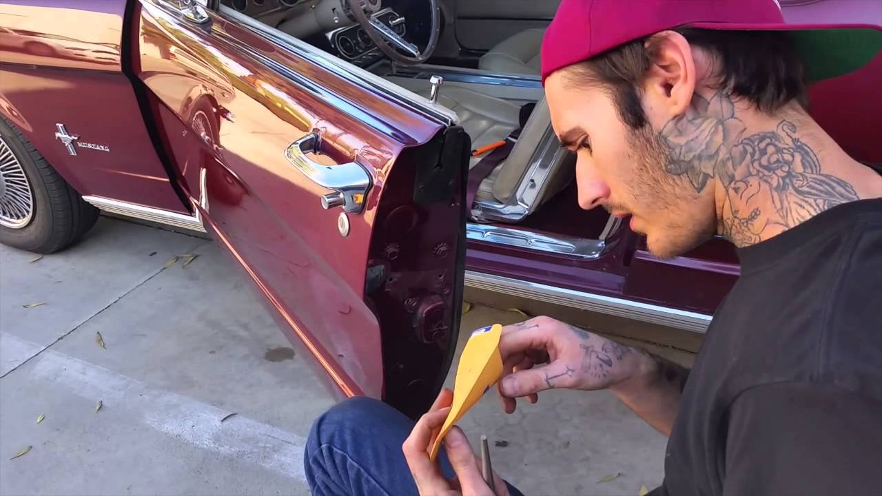 New Door Tag Harveys 1966 Mustang Convertible Day 75 Youtube