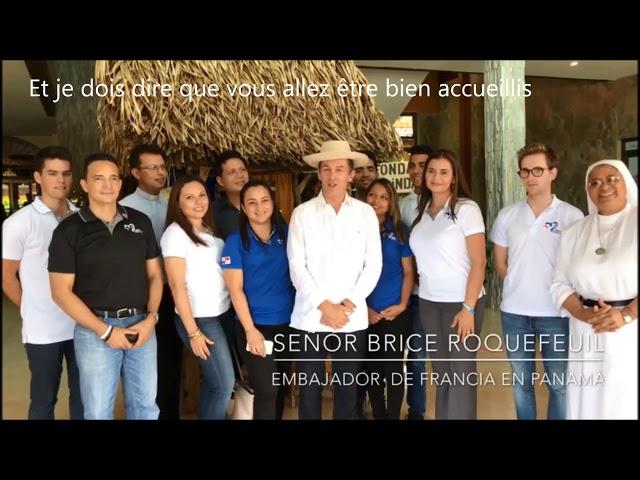 L'ambassade de France au Panama nous attend pour les JMJ
