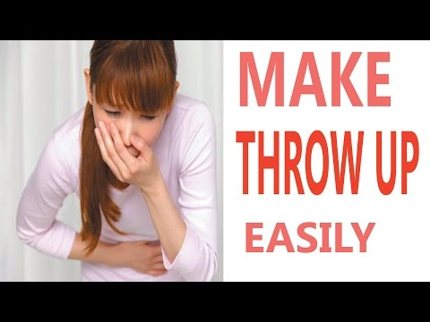How to Make Yourself Throw Up | 4 Ways to Make Yourself Thrown Up Easily