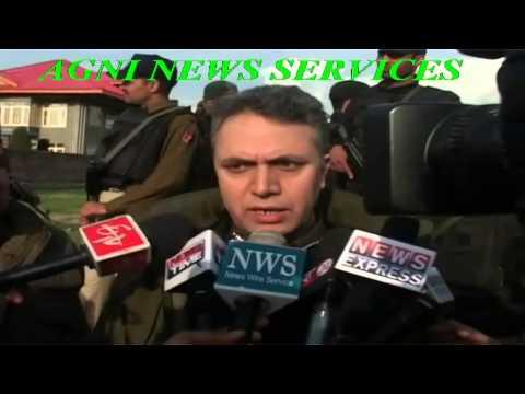 AHMADNAGAR .. TWO TERRORISTS KILLED IN ENCOUNTER, IG Kashmir Police AG MIr Byte