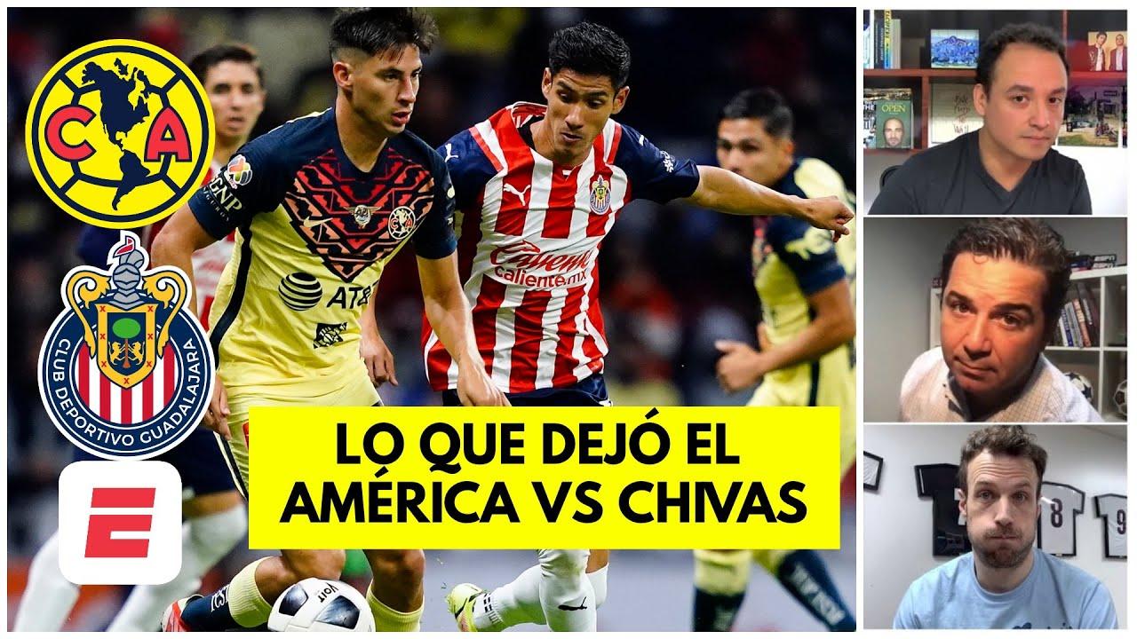 Chivas GANÓ un punto, América PERDIÓ 2 puntos. Lo que DEJÓ el clásico nacional
