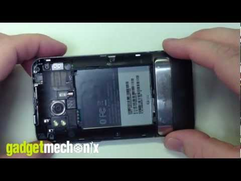 HTC Thunderbolt Take Apart / Tear Down Video