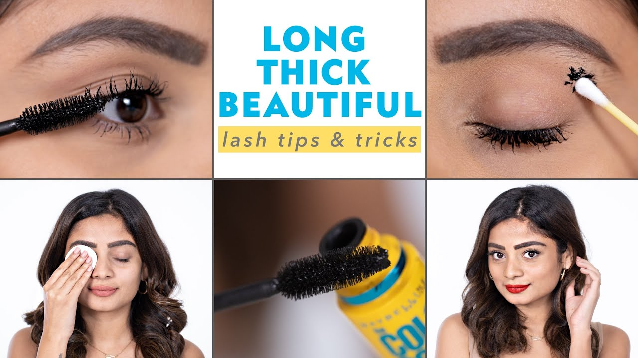 How To Get LONG & THICK LASHES!  Mascara Tips & Tricks
