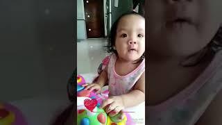 Ang takaw ni bebe sa cerelac..iyak pag wla laman ang bibig!!!