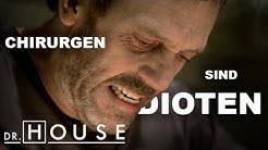 OP in der Badewanne: Dr. House operiert sich selbst | Dr. House DE