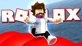 WIPEOUT RACE OBBY IN ROBLOX!