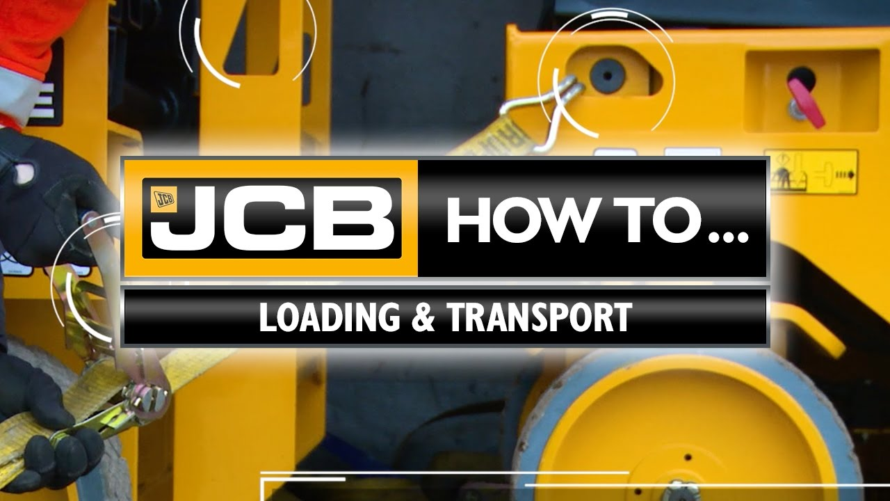 JCB Access - How to Transport