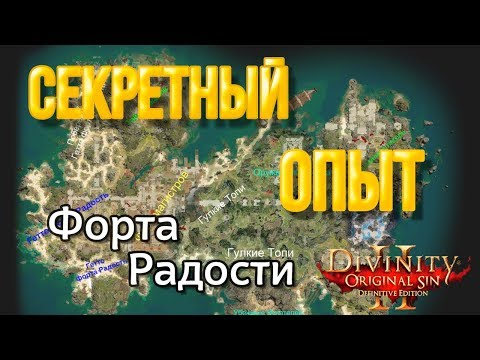 Divinity Original Sin 2: DE - Секретный опыт в форте Радости.