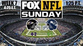 2019 NFL Season - Week 7 - (Prediction) - Ravens at Seahawks
