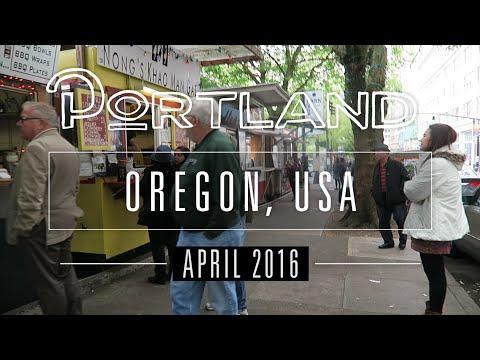 TRAVEL   Portland, OR, USA - April 2016