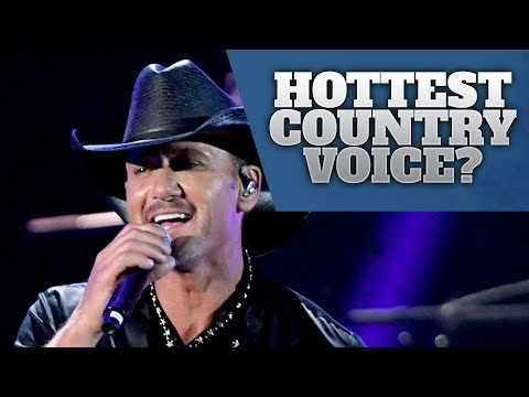 Country Music's 10 Sexiest Male Voices