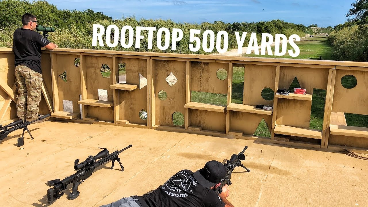 Rooftop Long Range Shooting to 500 Yards