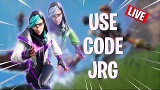 Classic Fortnite Sunday || Use Code - JRG || !member