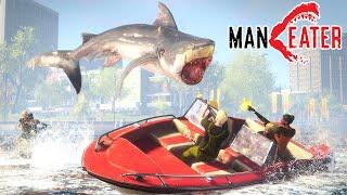 海で最強の捕食生物「巨大サメ」になって人を喰うヤバすぎるゲーム【Maneater】
