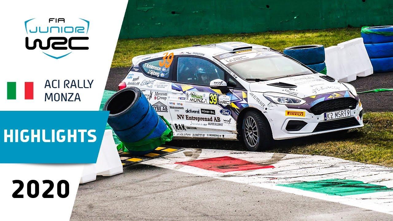 Junior WRC - ACI Rally Monza 2020: Event Highlights