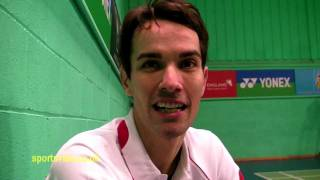 Nathan Robertson - The Best Of British Badminton - Sportsvibe Tv