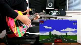 Lotus Turbo Challenge 2 - Intro theme - Metal Guitar Cover - by Wil P.