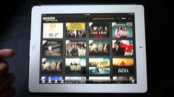 Amazon Instant Video for iPad hands-on