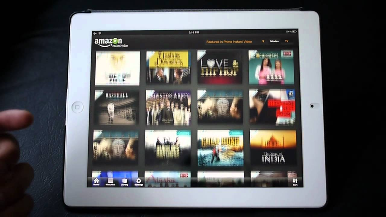 Amazon Instant Video For Ipad Handson