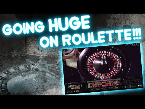 Going HUGE on ROULETTE!!!!