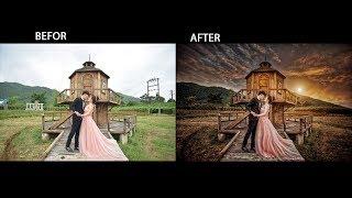 CẮT GHÉP BIẾN HÓA CỰC ẢO DIỆU BẰNG PHOTOSHOP(EXTREMELY EXTREMELY MAGIC CHANGE BY PHOTOSHOP)