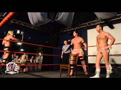 HXC Wrestling 'Chaos A.D' The Models vs The Blackpool Blonds