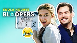 Enola Holmes: Hilarious Behind-The-Scenes Moments With The Cast! |🍿OSSA Movies