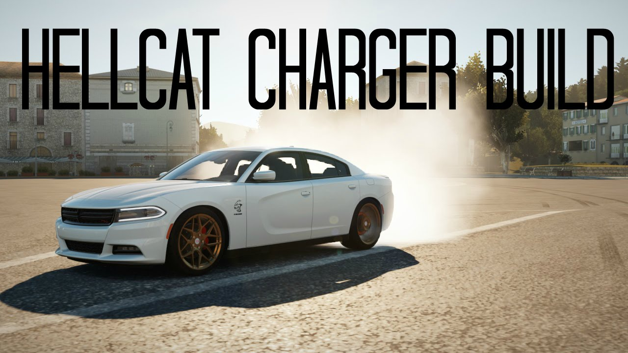 17 Charger Hellcat >> Forza Horizon 2 Build | Dodge SRT Charger Hellcat - YouTube