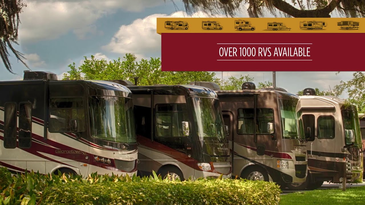 New and Used RVs for Sale at Lazydays RV Dealer in Tampa, Florida