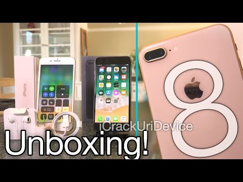 iPhone 8 Plus: Unboxing and Review! (Hands-On)