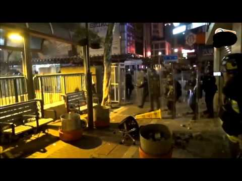 Hong Kong Riots   February 2016 Chinese New  Year Eve