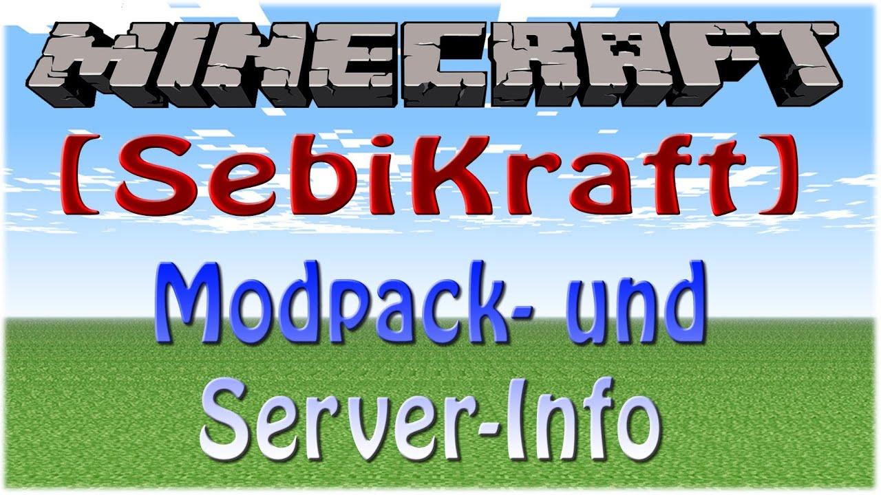 how to start modpack server