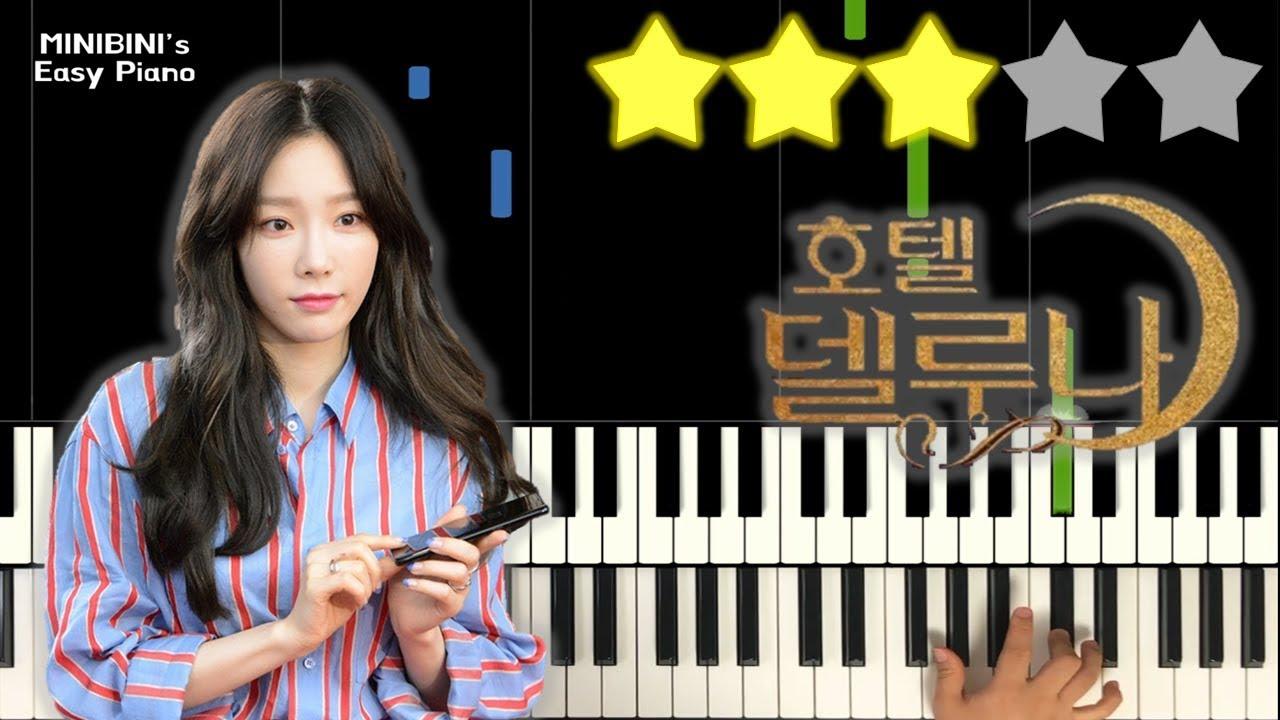TAEYEON (태연) – A Poem Titled You (그대라는 시) | Hotel Del Luna OST 《Piano Tutorial》 ★★★☆☆ [Sheet]