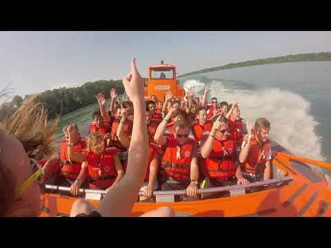Wet Jet Tour in Niagara Falls Ontario 2017
