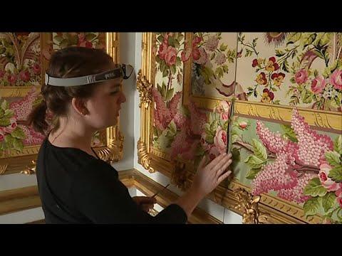 Queen's apartments restored at Versailles