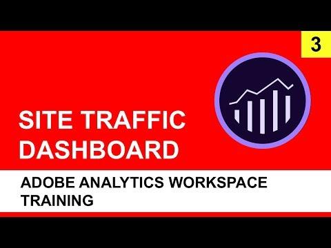 Adobe Analytics Workspace Training (2018) | Site Traffic Dashboard - Part 3