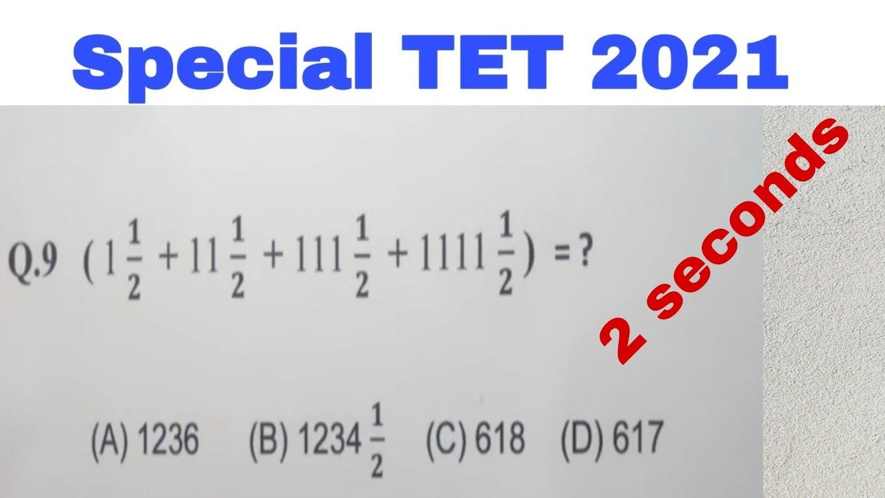 Special TET 2021