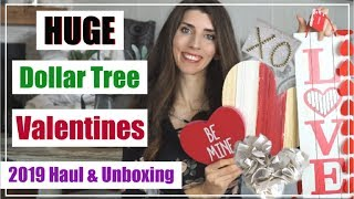 NEW Dollar Tree Haul 🖤 Valentines Day Decor & Unboxing My Decor   Momma From Scratch