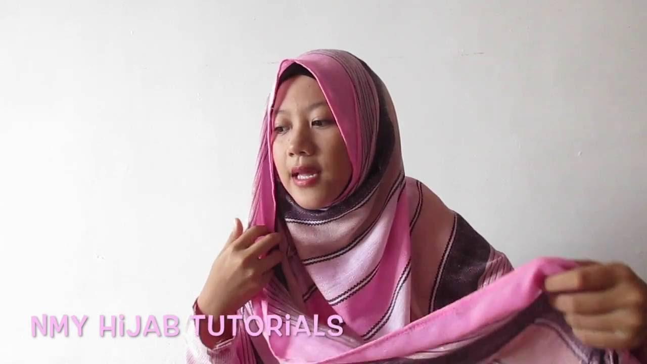 Hijab Pashmina Cara Pakai Selendang Terkini Simple Tutup Dada