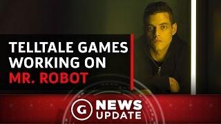 Telltale Games Teasing Mr. Robot Project - GS News Update