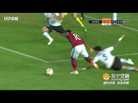 2018 CHA CSL Round 24 Henan Jianye vs Hebei CFFC