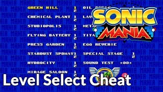 Video Sonic Mania Cheats: how to reach level select and sound test! download MP3, 3GP, MP4, WEBM, AVI, FLV Agustus 2017