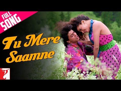 Tu Mere Saamne - Full Song | Darr | Shah Rukh Khan | Juhi Chawla | Lata Mangeshkar | Udit Narayan