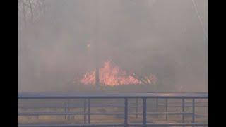 Incendio en Maicao amenaza con dejar sin agua a la población